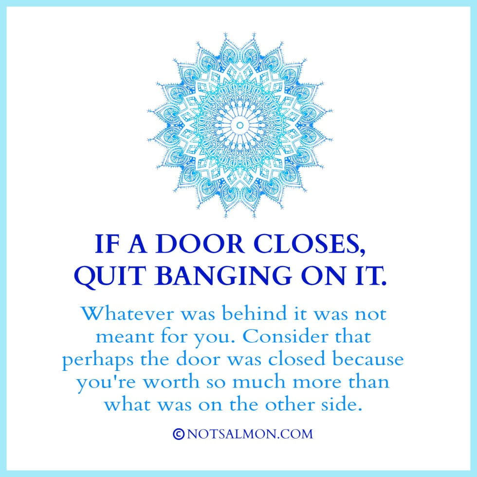 door banging Quotes to Stop Worrying