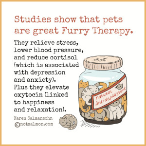 pets are good for mental health