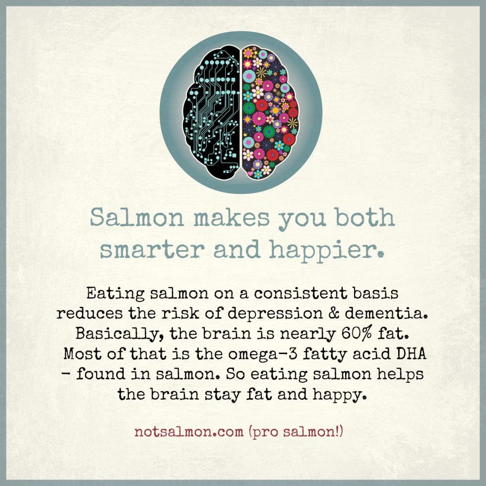 health benefits to salmon