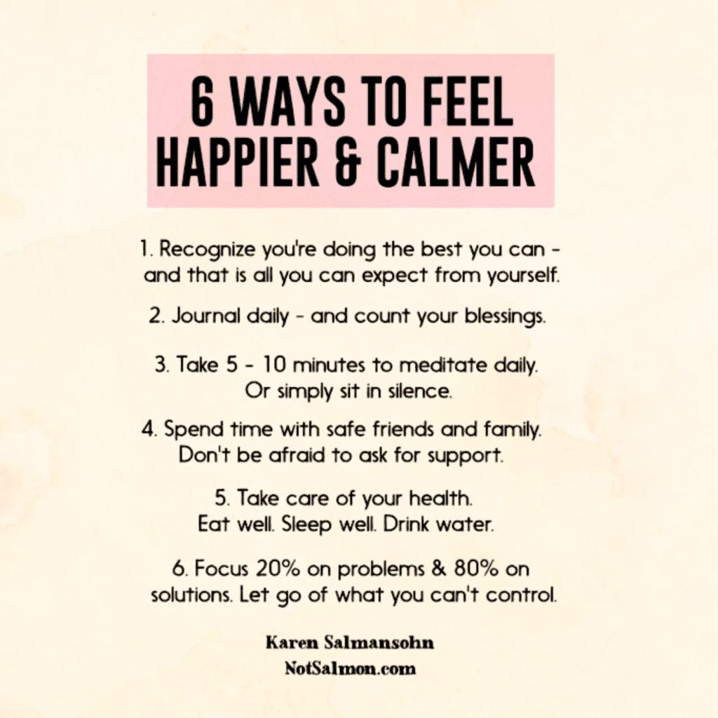 calm reminder