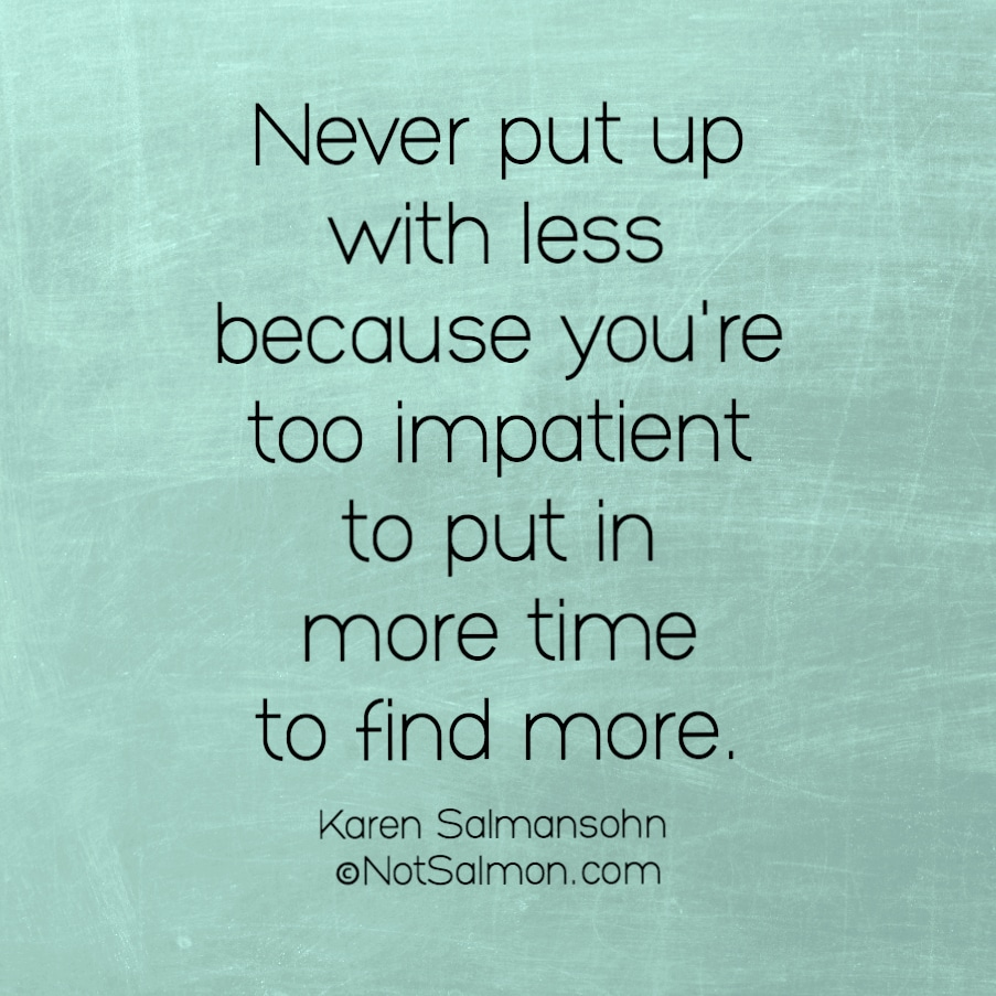 inspiring quote about patience and calm