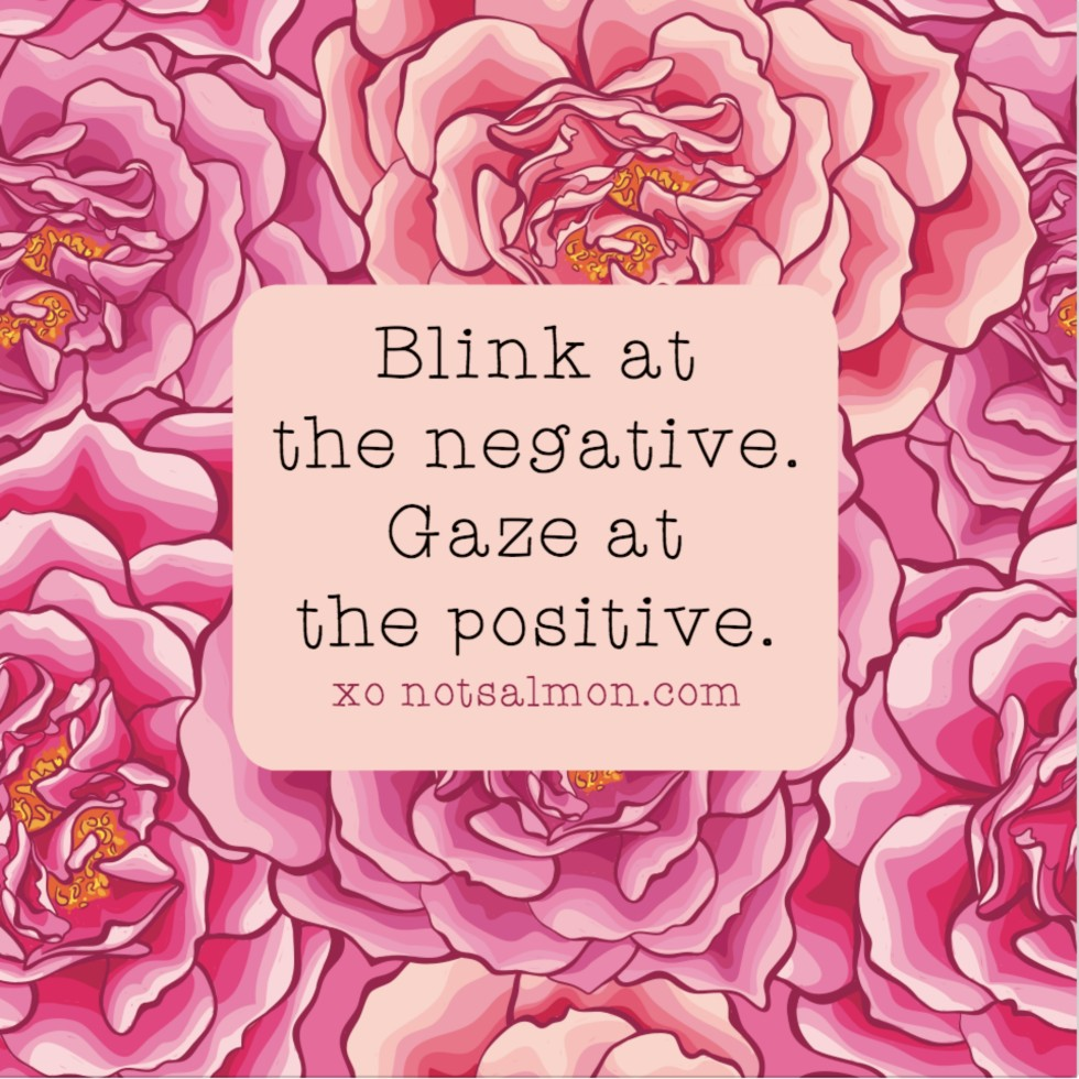 blink at the negative quote