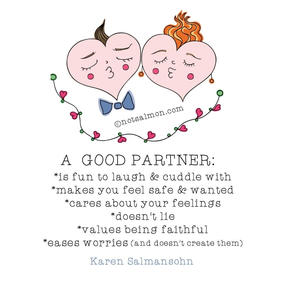 what to look for in a love partner quote