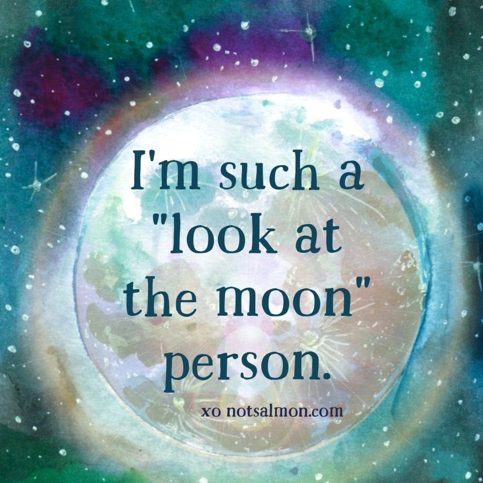 moon saying
