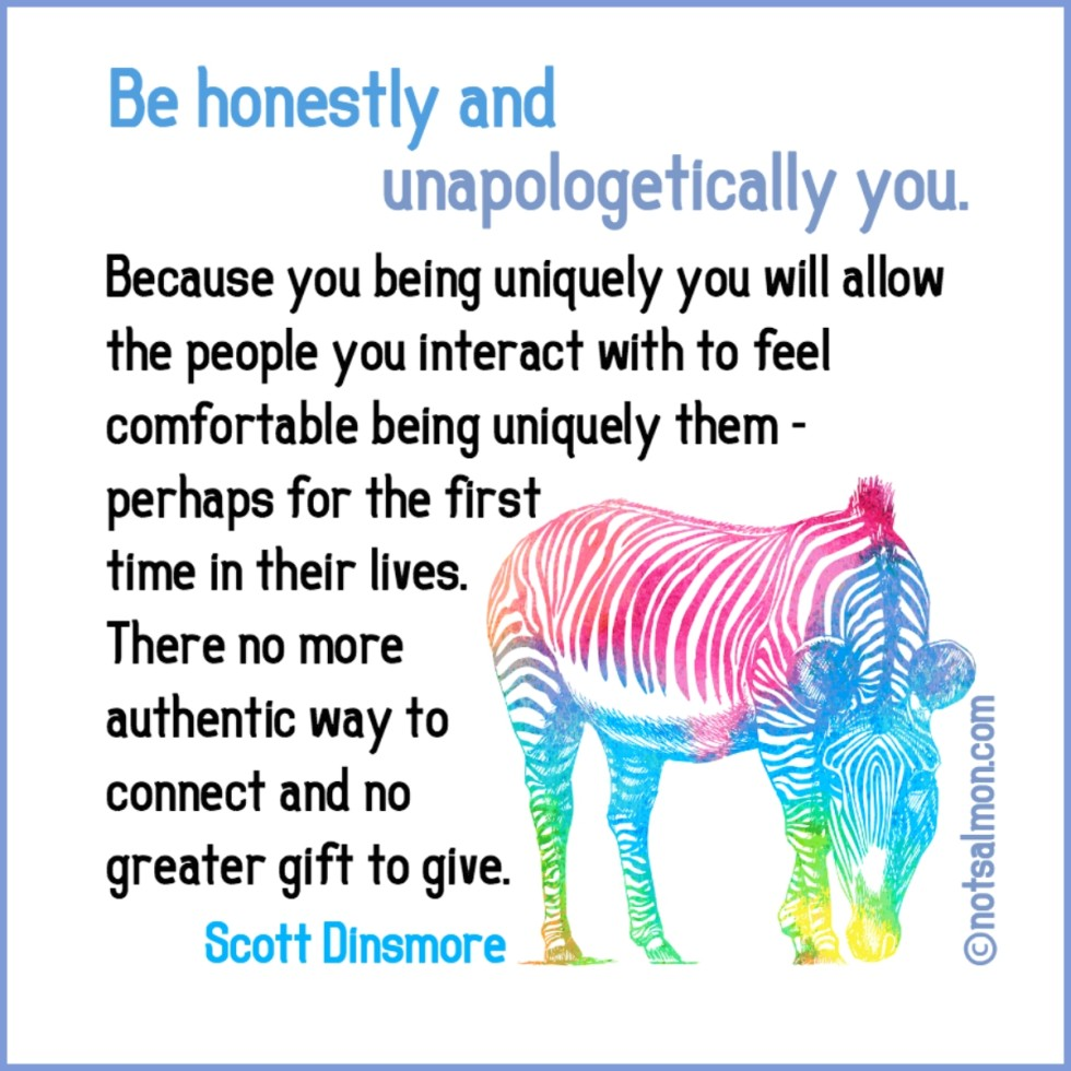 be yourself unapologetically you