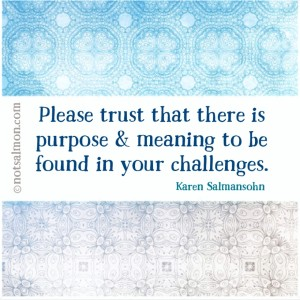 how to be patient trust the process karen salmansohn