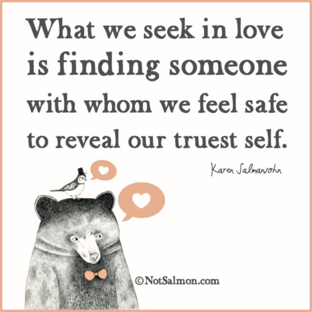 quote love safe truest self
