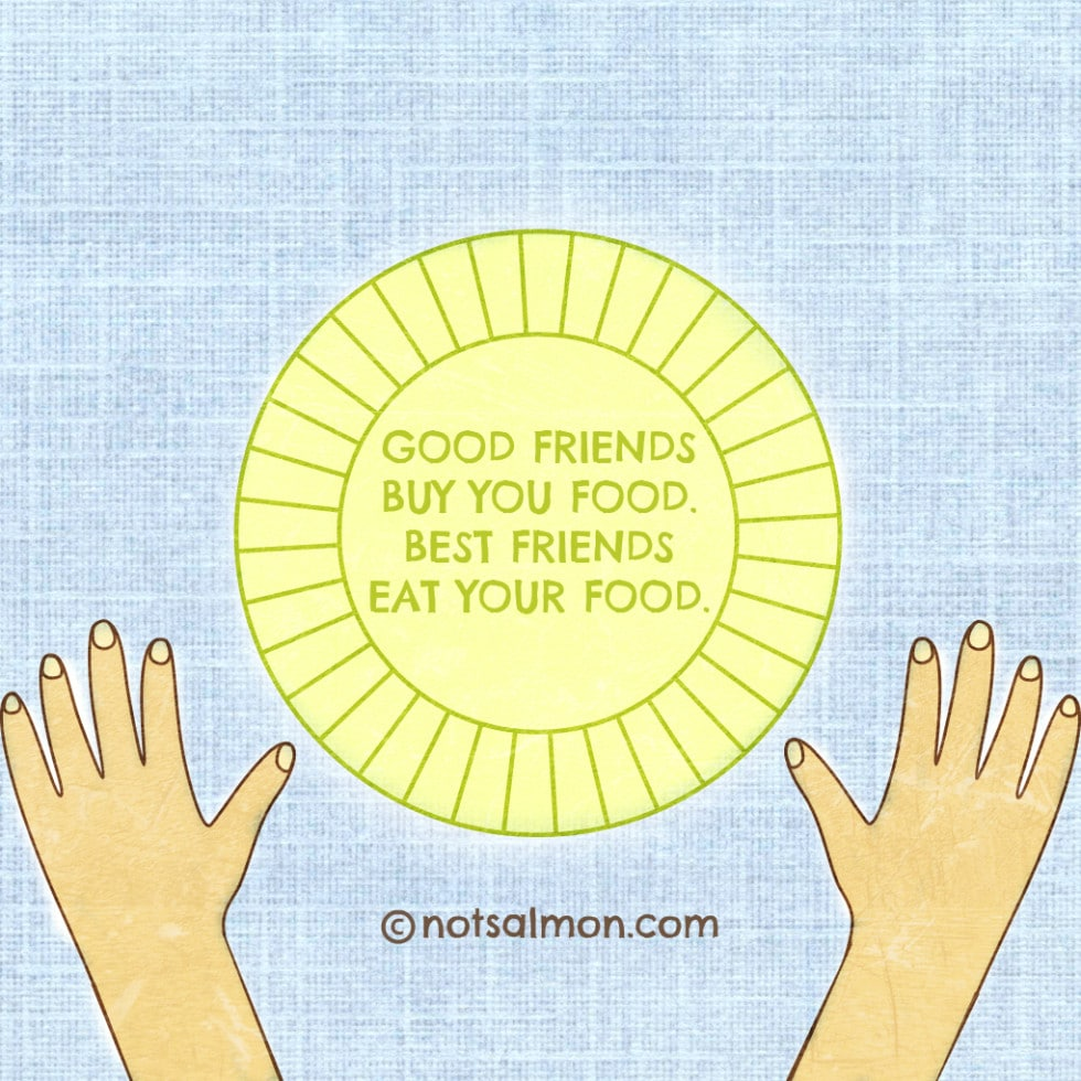 Quotes About Food And Friendship 25 Inspirational Quotes About Friendship