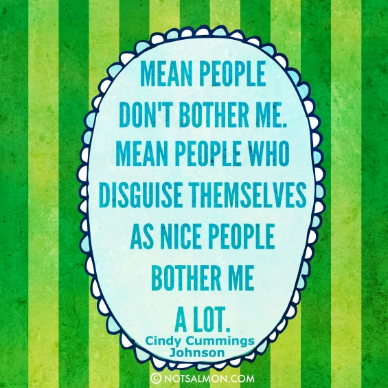 mean people quote