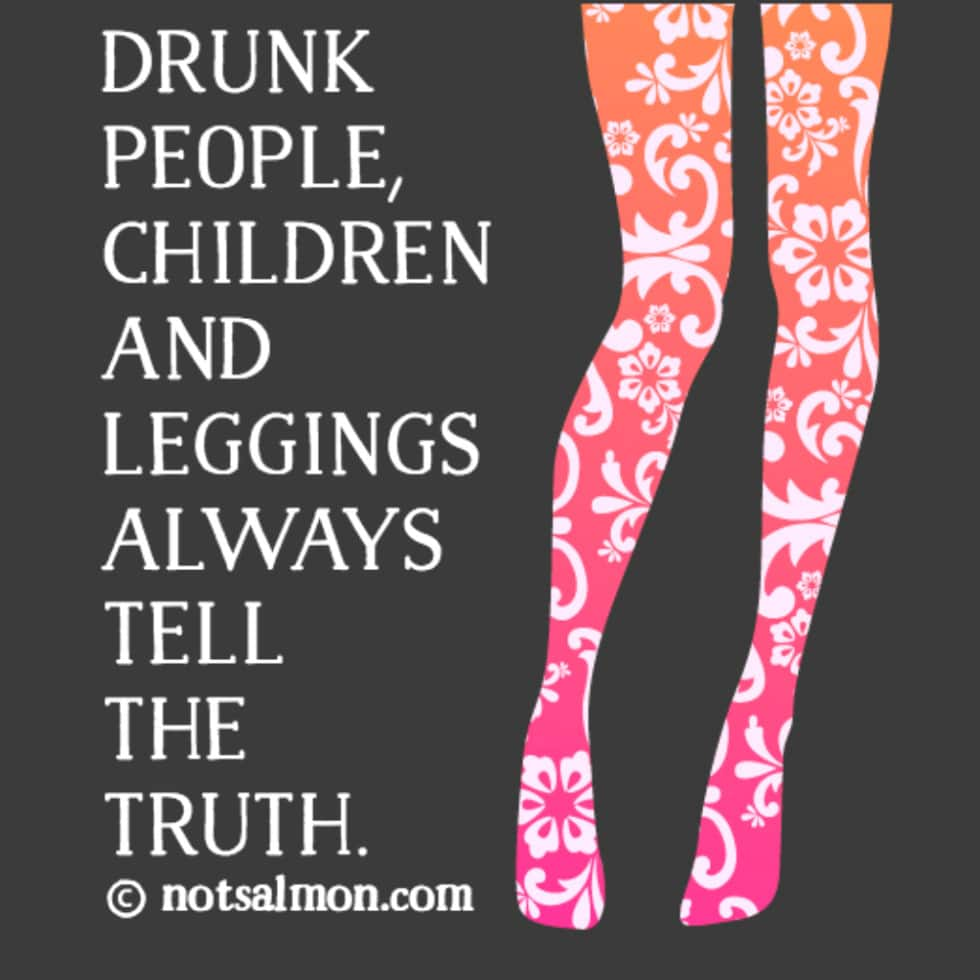 drunk people leggings kids
