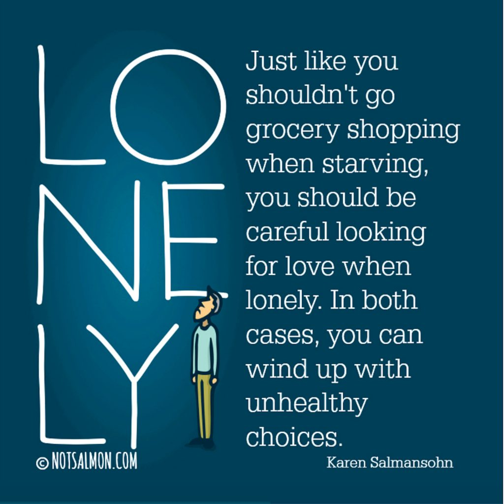 wise words about being lonely