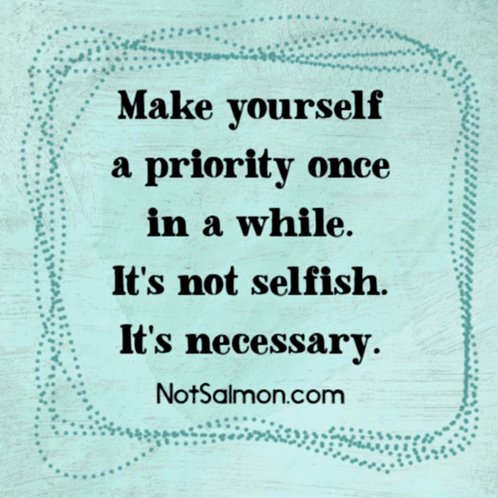 self care reminder