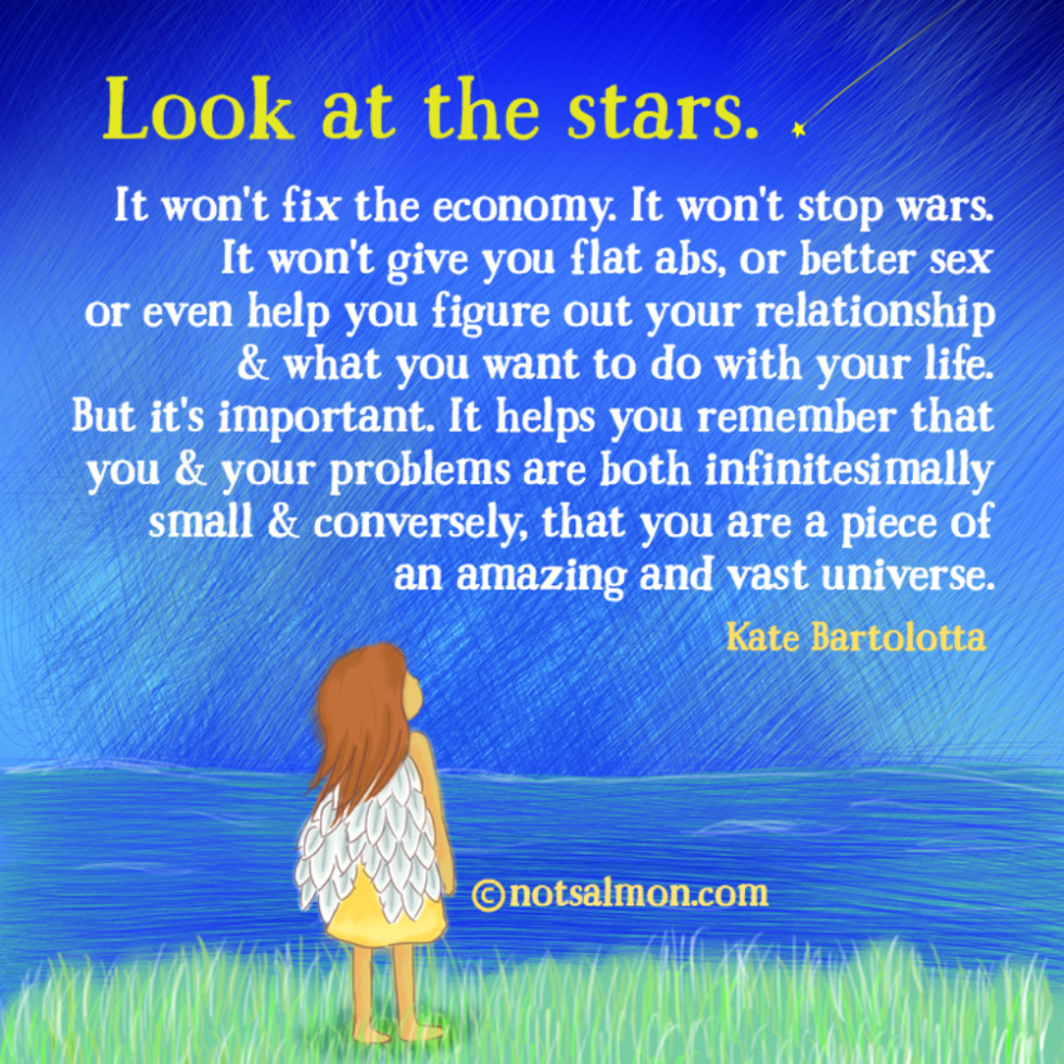 quote look at stars late bartolotta