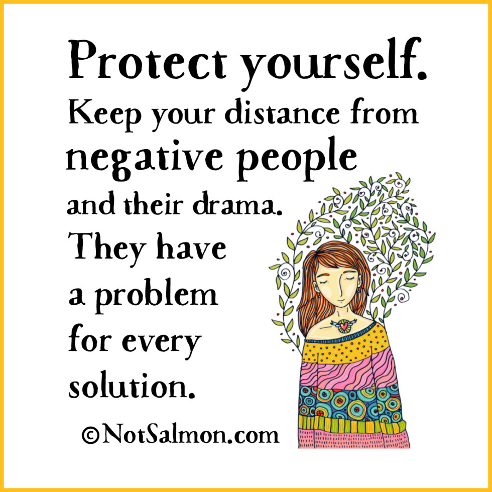 Free Yourself From Negative People Quote: 15 Positive Quotes For When You're Depressed
