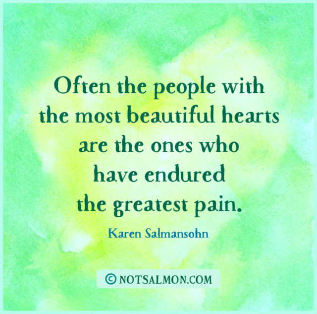 quote pain beautiful heart