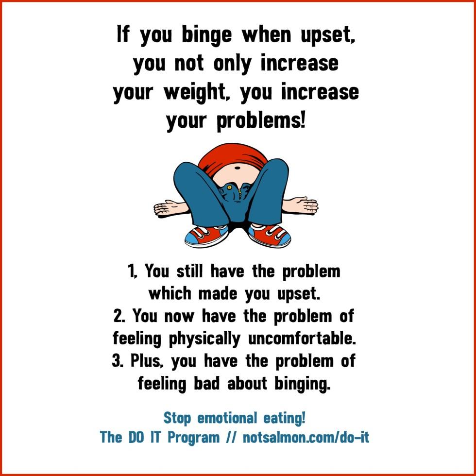 Stop Overeating! 12 Motivational Quotes! - Karen Salmansohn