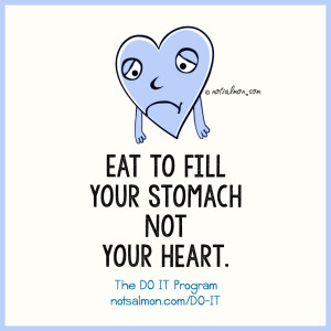quote eat stomach heart