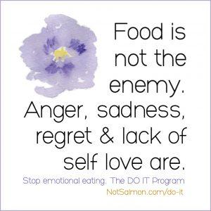 binge eating quote karen salmansohn
