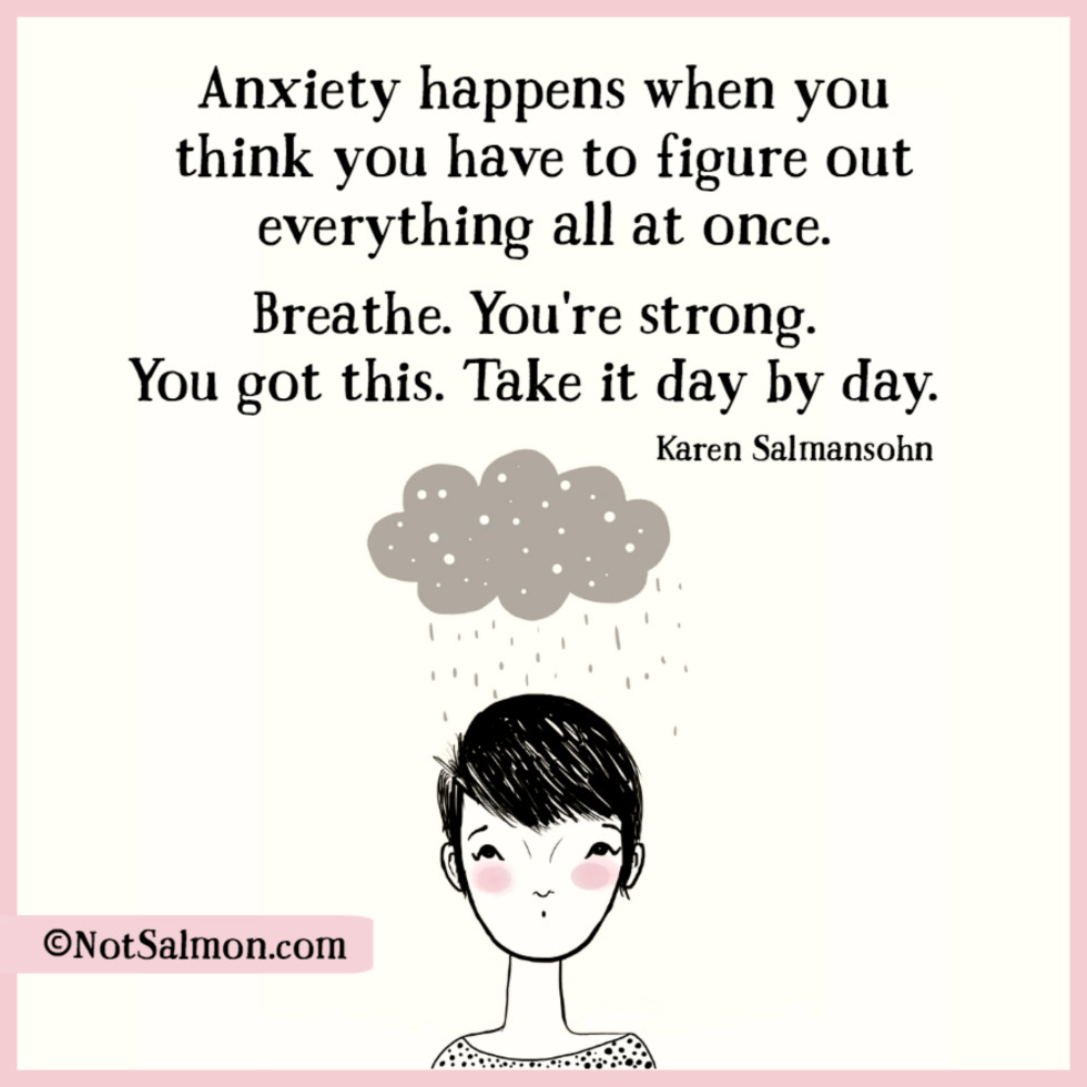Quotes About Anxiety And Lowering Stress