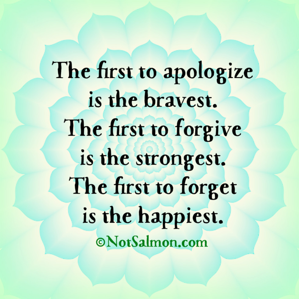 quote apologize happiest first