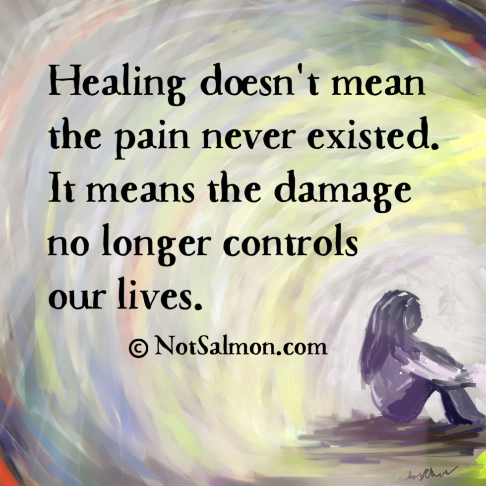 quote healing pain damage
