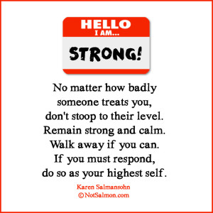 quote strong calm hello i am