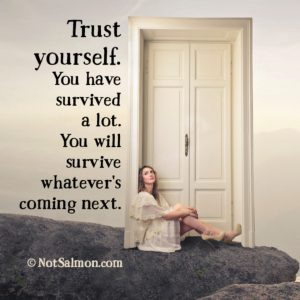how to be patient trust yourself karen salmansohn