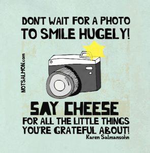 smile more karen salmansohn quotes
