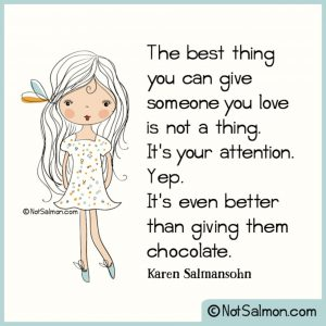 quote best thing chocolate love attention