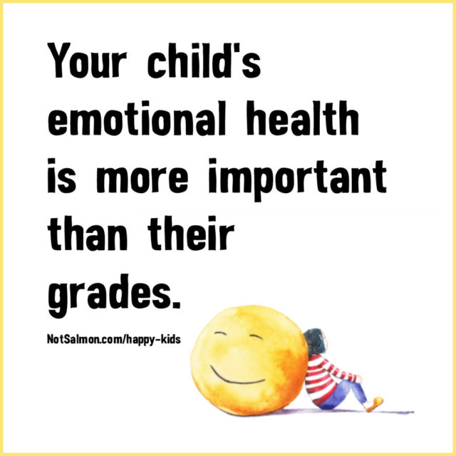 Emotional Health Over Grades