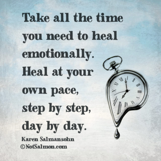 Heal at Your Own Pace