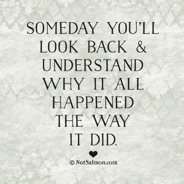 Someday You'll Look Back