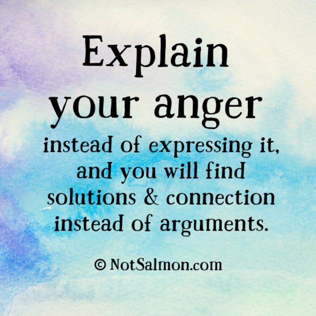 quote anger explain solutions