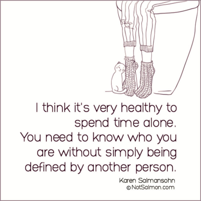 quote healthy alone