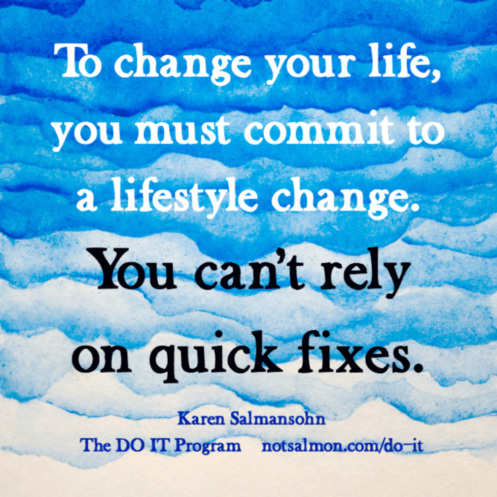 quote lifestyle quick fix