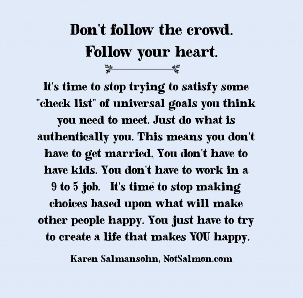 follow your heart saying