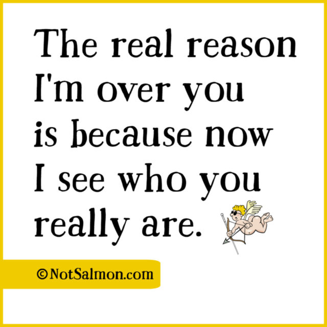 quote real reason over