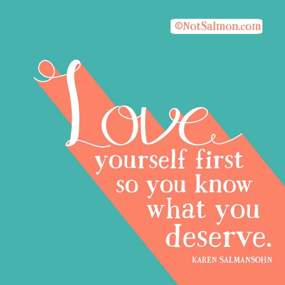 Pity, that love yourself first