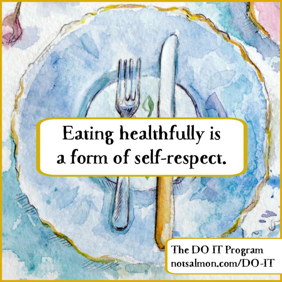 QUOTE eating healthfully respect do it