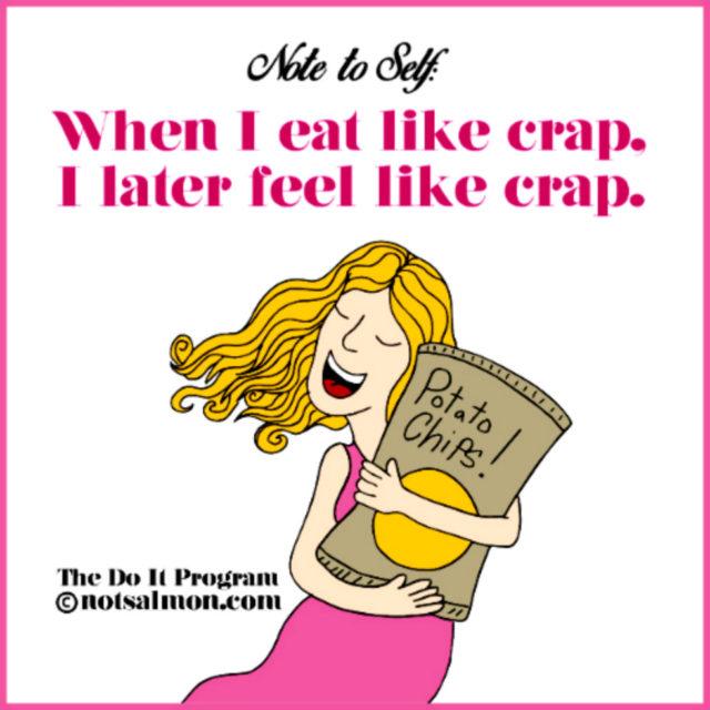 poster crap eat large