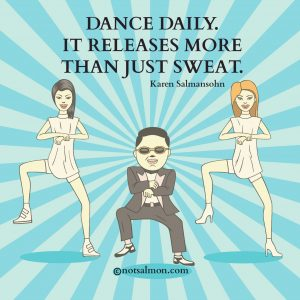 dance to release stress