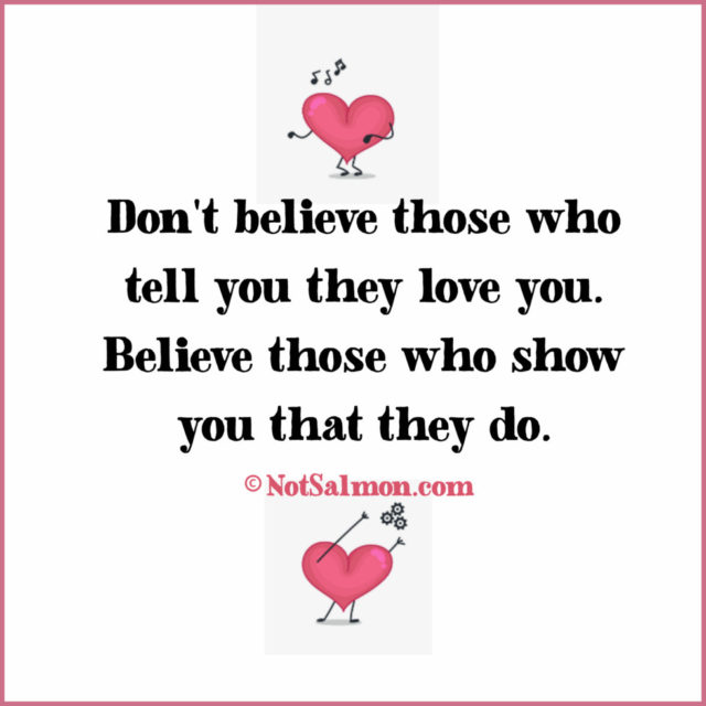 quote believe love tell show