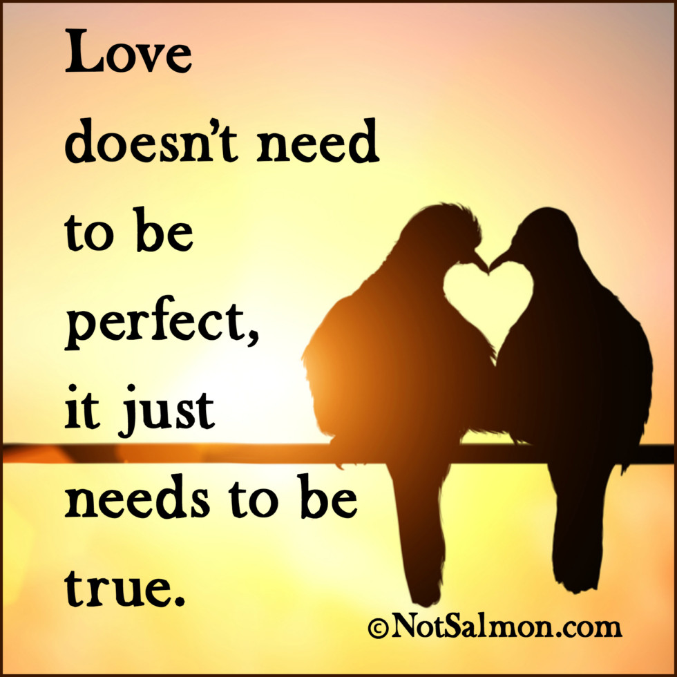 Love Quotes With Images 7 Realistic Love Quotes  Karen Salmansohn