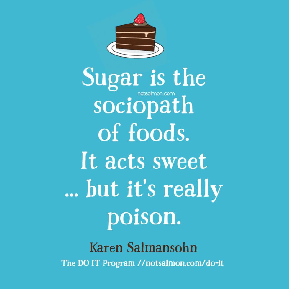 How and Why To Stop Sugar Addiction - Karen Salmansohn