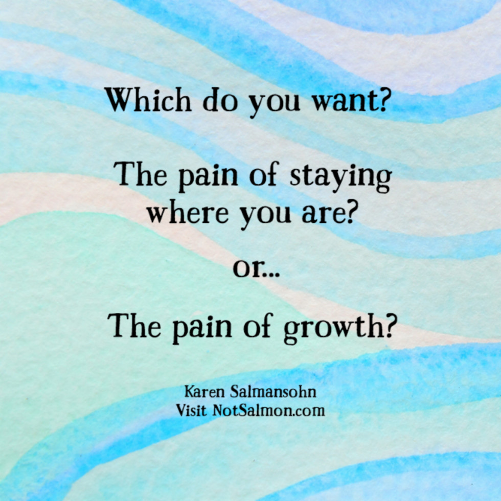 quote which do you want pain