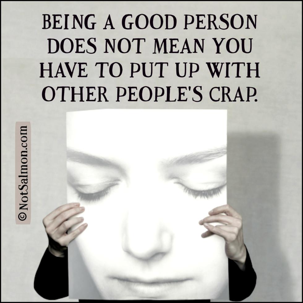 good person crap