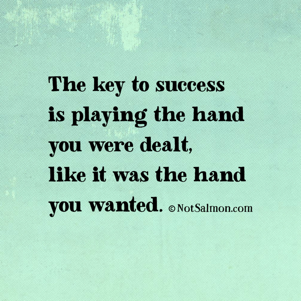 key to success karen salmansohn