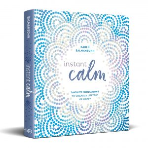 instant calm book helps to manage being depressed