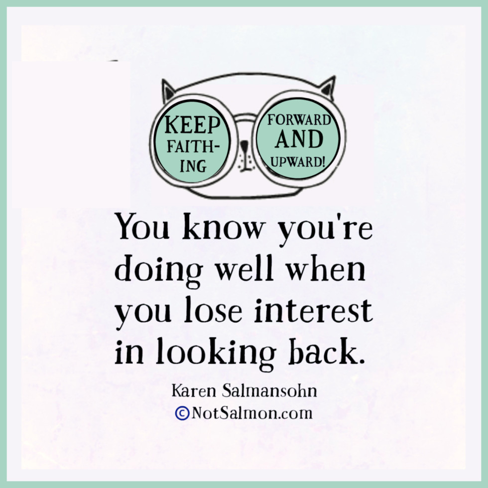quote about feeling hurt and not looking back