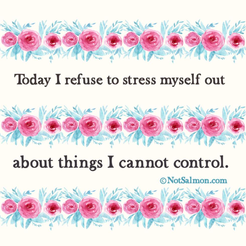 11 good reminders stress